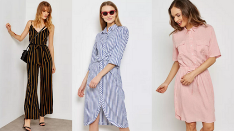 5 Stripey Professional Outfits to Turn on Your Work Mode