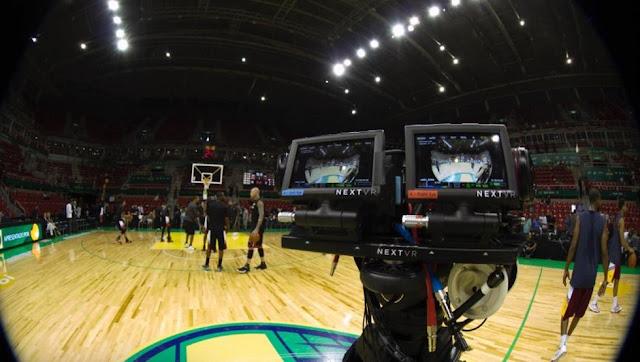 La NBA dará un partido a la semana en realidad virtual