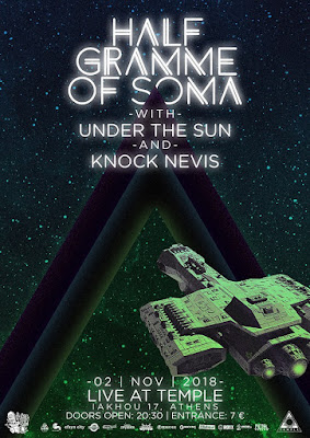 HALF Gramme of SOMA, Under the Sun, Knock Nevis, live [2.Nov.'18]