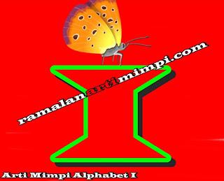 Arti Mimpi Alphabet I