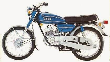yamaha rs100 planet motocycle. Black Bedroom Furniture Sets. Home Design Ideas
