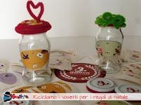 come personalizzare dei vasetti in vetro
