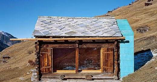 Arquitectura de casas caba a alpina moderna y r stica en - Arquitectura rustica moderna ...