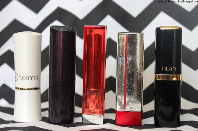 Lipsticks Flormar Rimmel Maybelline Gabriela Salvete Hean