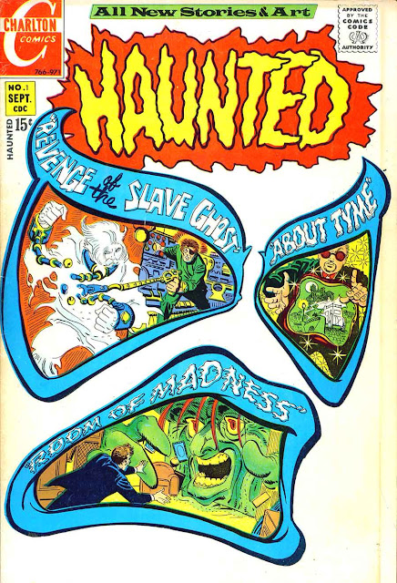 Haunted v1 #1, 1971  dc bronze age comic book cover by Steve Ditko