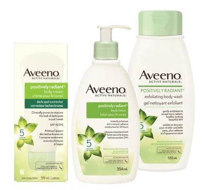 Aveeno Positively Radiant Body Care