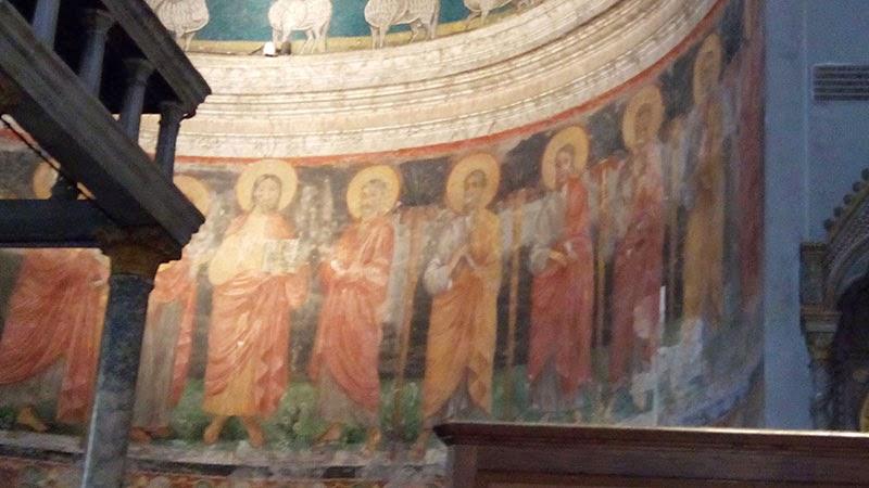 sao clemente afresco light - A Basílica de São Clemente