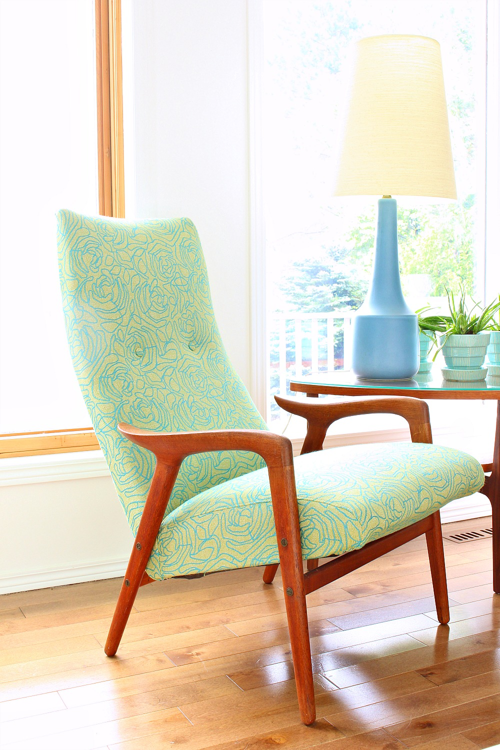 Mint Mingo Chair