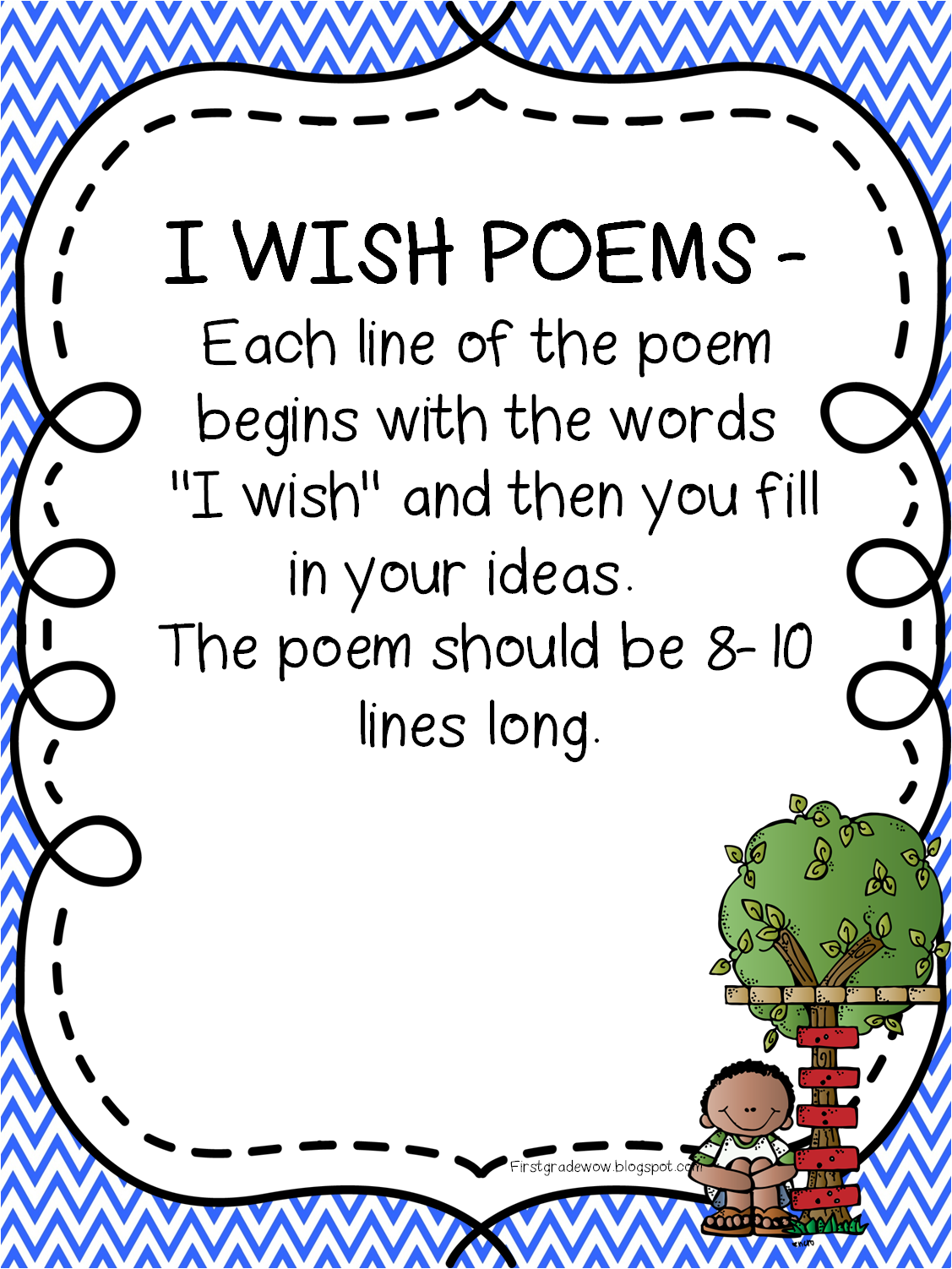 First Grade Wow: Happy Poetry Month!