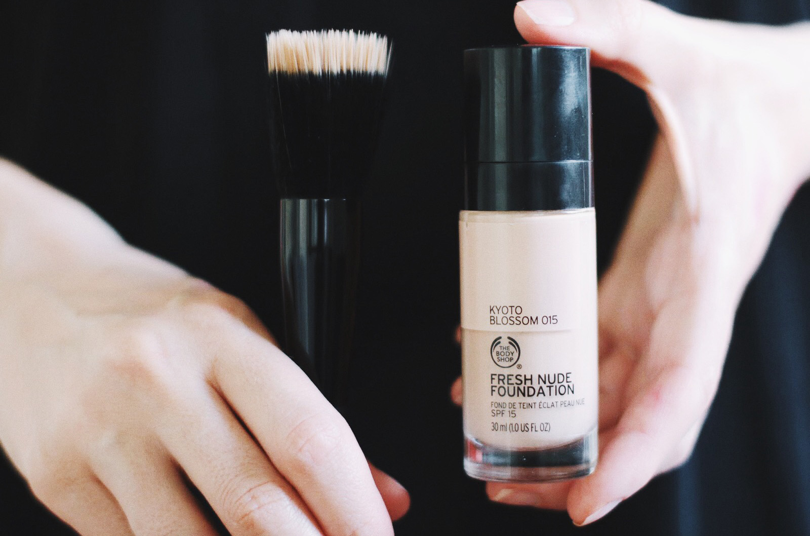 the body shop fresh nude foundation fond de teint avis test