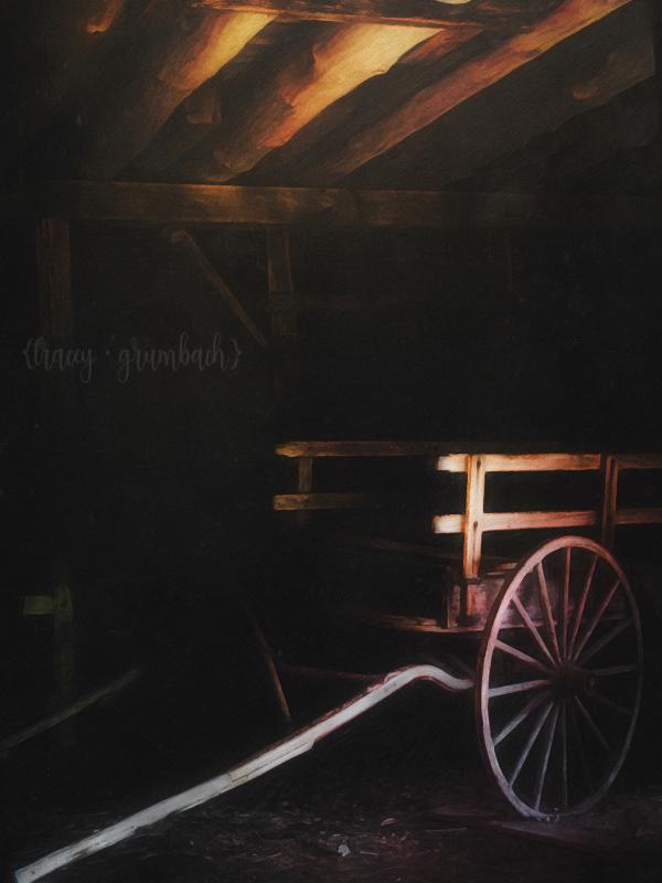 Eden Mill Nature Center antique wagon