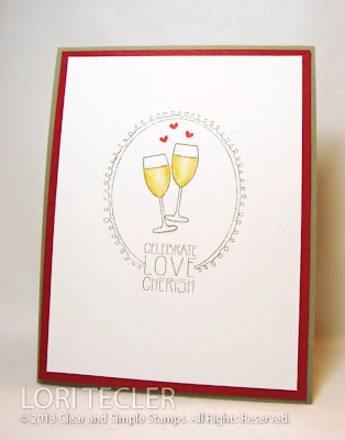 Celebrate Love Cherish-designed by Lori Tecler-Inking Aloud-stamps and dies from Clear and Simple Stamps