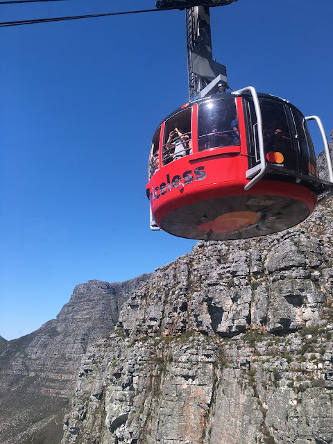 Table Mountain Cape Town South Africa Cable Car
