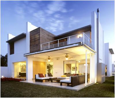 5 gambar rumah minimalis modern 2 lantai terbaru - contoh