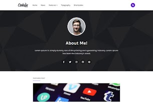 Codeify - Personal Blogger Template