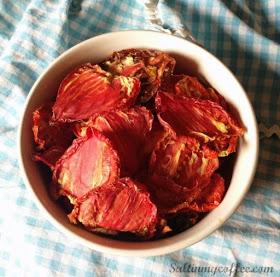 sun dried tomatoes in dehydrator