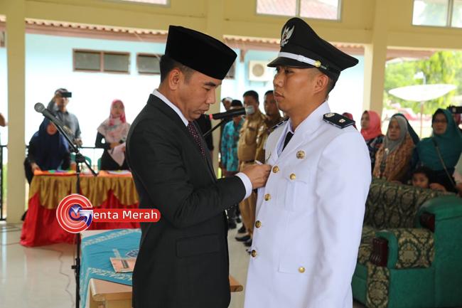 Lantik Kakam Kartajaya, Bupati Waykanan Ingatkan Pelaksanaan  DD/ADD Karena Diawasi Penegak Hukum