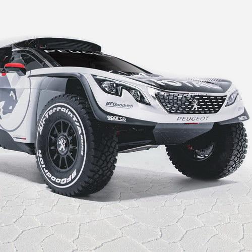 Tinuku Peugeot Total Red Bull team bring Peugeot 3008 DKR for 2017 Dakar challenge
