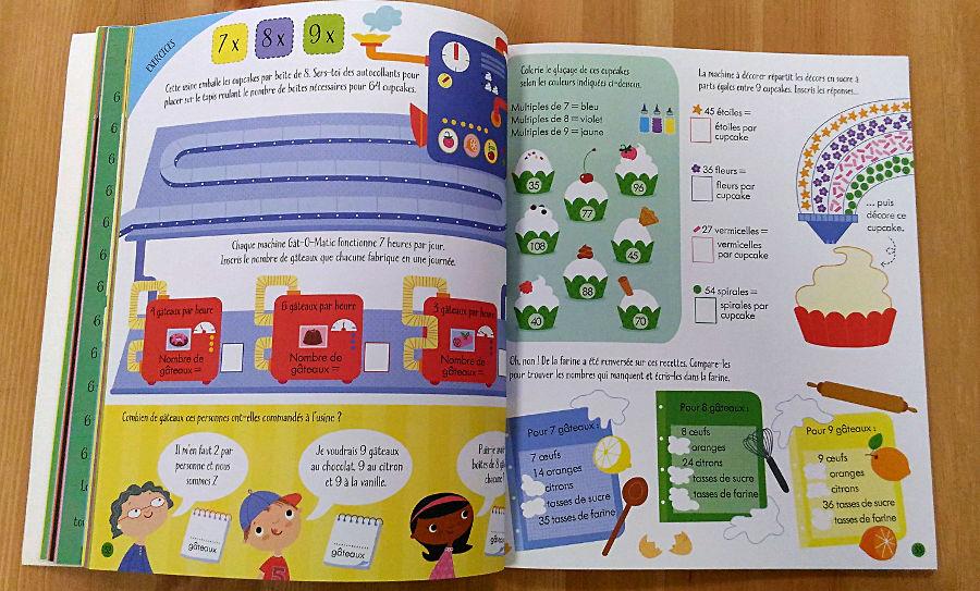 cahier d'activité multiplication usborne