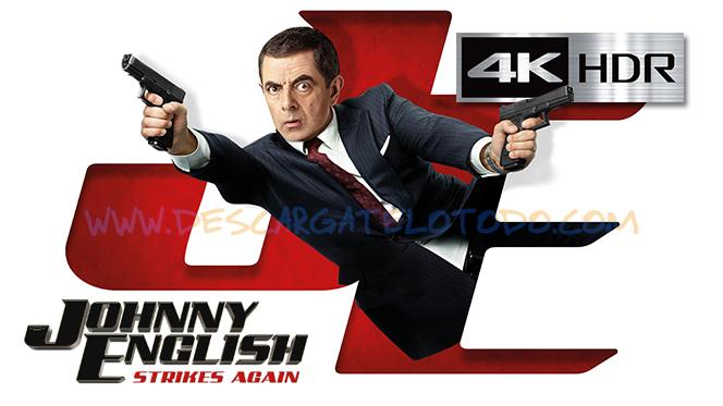 Johnny English 3.0 (2018) 4K UHD [HDR] Latino-Castellano-Ingles