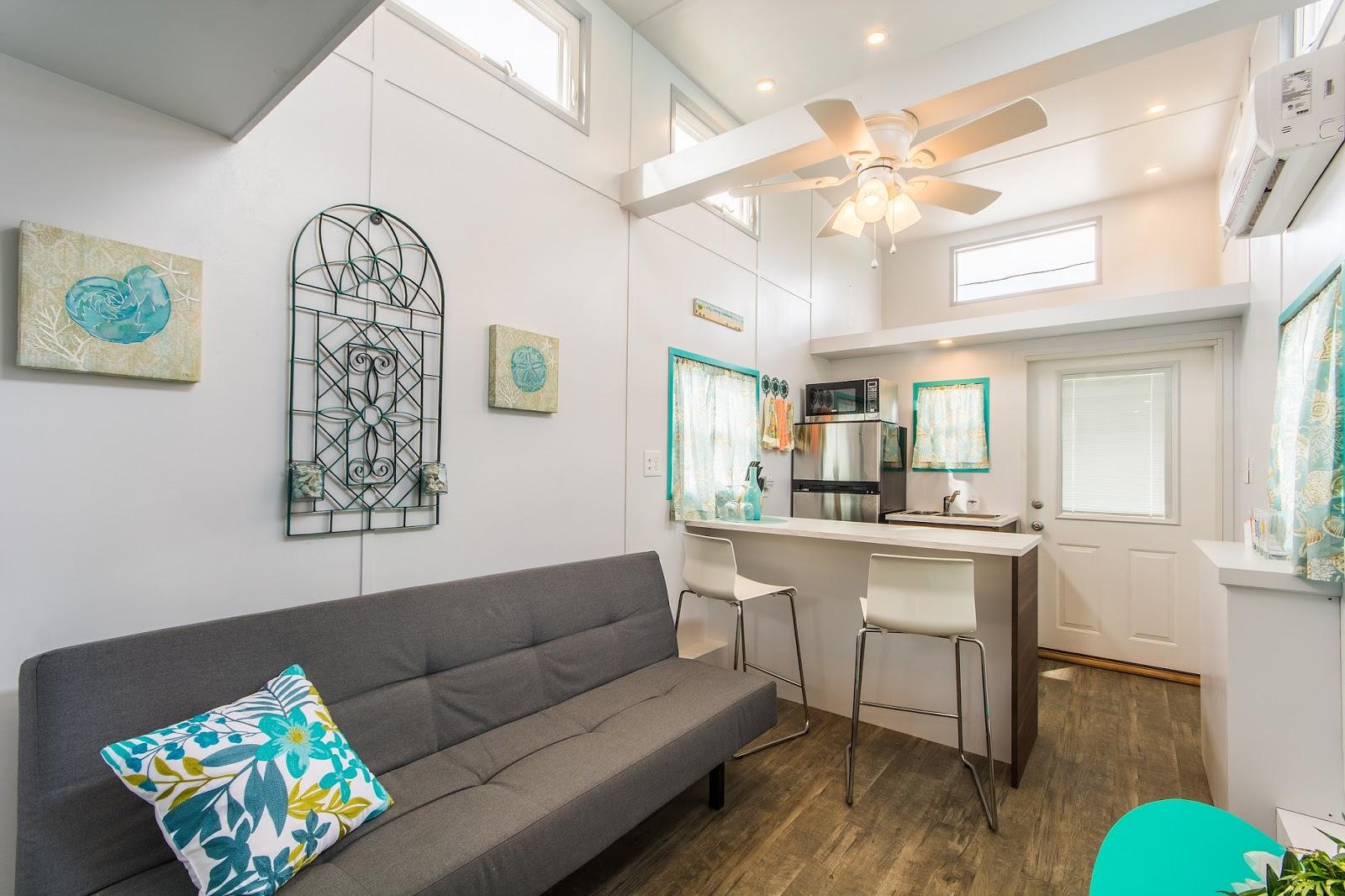 TINY HOUSE TOWN: The Sand Dollar at Tiny House Siesta