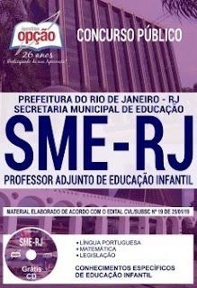 Baixar Apostila Concurso SME RJ 2019 PDF Download