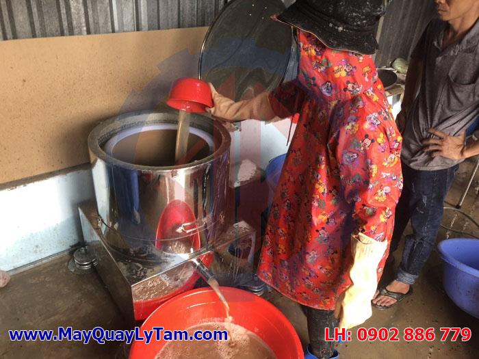 Máy vắt ly tâm inox Vĩnh Phát, sản xuất mua bán máy vắt ly tâm nhàu chất lượng, thu hồi nước cao