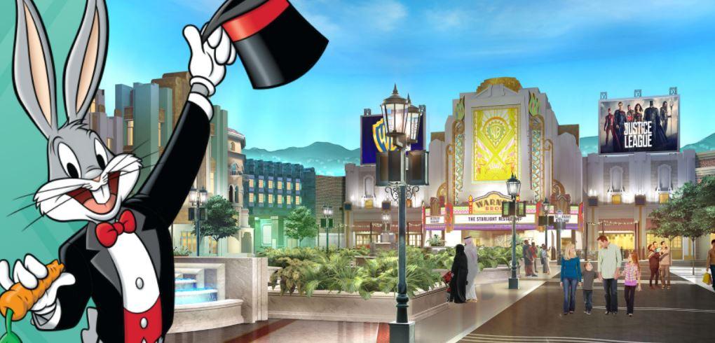 Resultado de imagen para parque tematico abu dhabi Warner Bros