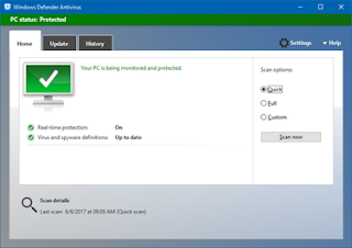 أبديت ويندوز دفيندر Windows Defender Definition Updates