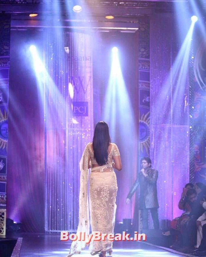 Sonam Kapoor, Sonam Kapoor Pics in White Saree - IIJW Finale 2014
