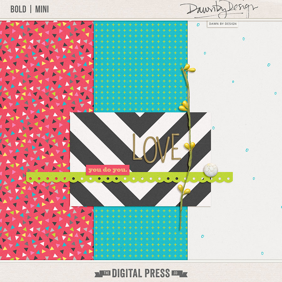 Bold | Nov 2017 Digiscrap Parade