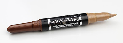 Rimmel Magnif'Eyes Cream Eyeshadow Liner Duo Queens of the Bronzed Age Bronze Gold