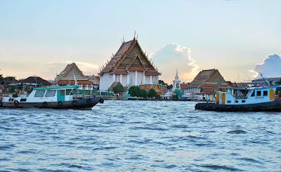 Sungai Chau Praya Bangkok