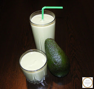 Smoothie cu avocado si lapte reteta,