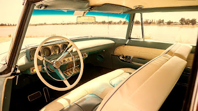 1956 Continental Mark II Luxury Coupe Interior Cabin