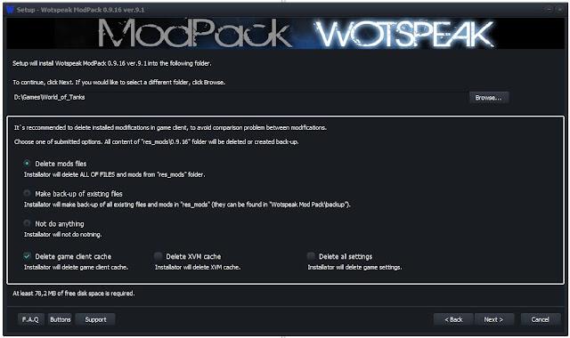 Wotspeak mod pack 0915 скачать с официального сайта - 2