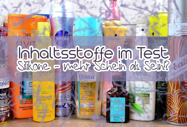 Silikone im Shampoo