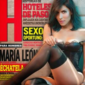 María León Sexy en Portada
