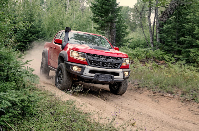 Chevy Introduces the Colorado ZR2 Bison to their Mid-Sized Lineup