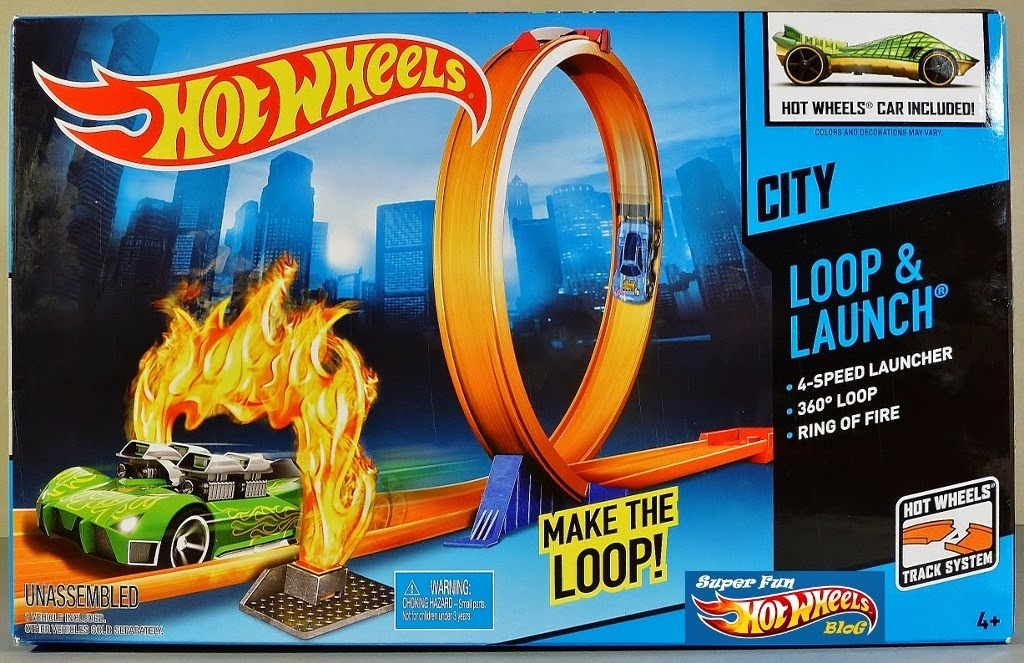 super fun hot wheels blog hw city loop launch playset. Black Bedroom Furniture Sets. Home Design Ideas