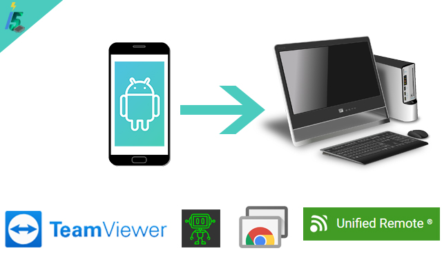 TOP 5 APPLICATIONS TO CONTROL YOUR PC BY SMARTPHONE