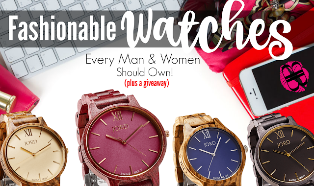 The Best Fashionable Watches That Every Men And Women Should Own By Barbies Beauty Bits and Jord Watches