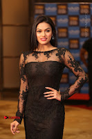 Actress Soniya Stills in Beautiful Black Long Dress at SIIMA Short Film Awards 2017 .COM 0017.JPG