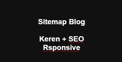 """Script Sitemap Terbaru Yang Keren dan Responsive di Blogger - Dapat membuat serta memasangkan sitemap dengan tampilan yang keren, terlebih lagi responsive tentu hal ini bisa membantu SEO untuk website anda. Jadi tunggu apa lagi segera perbaharui sitemap yang saat ini anda gunakan di blog dengan script sitemap di bawah ini.    Note: Sitemap juga bisa dikatakan dengan Daftar Isi di dalam blog/website tersebut..    Sebelum itu, apakah anda sudah pernah membuat dan memasang SITEMAP page di dalam website anda?? Apabila ini pertama kali untuk anda, cara nya untuk membuat dan memasang page sitemap yaitu sama seperti saat anda membuat artikel di website, namun penulisan di dalam artikel tidak menggunakan """"Compose"""" atau tata cara tulis yang biasanya, namun menggunakan tata cara penulisan dalam bentuk script """"HTML"""" setelah itu tinggal copy paste saja script sitemap yang seo,keren,dan responsive seperti dibawah ini.    Lalu kemudian Publish/Publikasikan page sitemap yang sudah anda buat, bagaimana sebenarnya gampang sekali kan, karena memang seperti seakan akan anda ingin membuat artikel terbaru untuk blog/website.."""