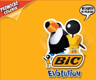 Promoção Bic Evolution Colorir 2016 2017 Pelúcias