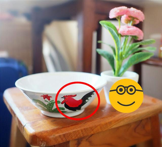 Filosofi di Balik Gambar Ayam Jago Pada Mangkuk Menurut Masyarakat Tiongkok