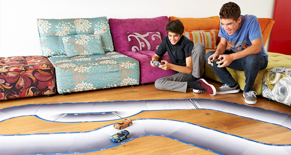 Circuito carreras IA Hot Wheels