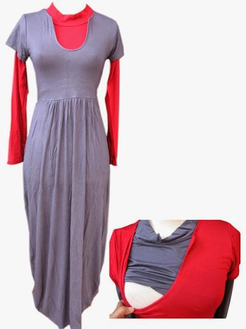 Kombinasi Baju Muslim Batik Gamis Terbaru 2015