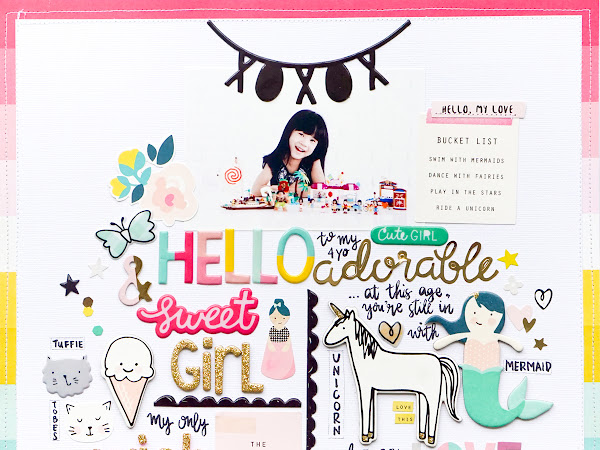 Crate Paper Design Team : Hello Girl