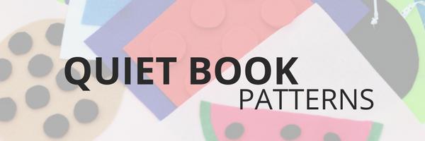 No sew quiet book patterns